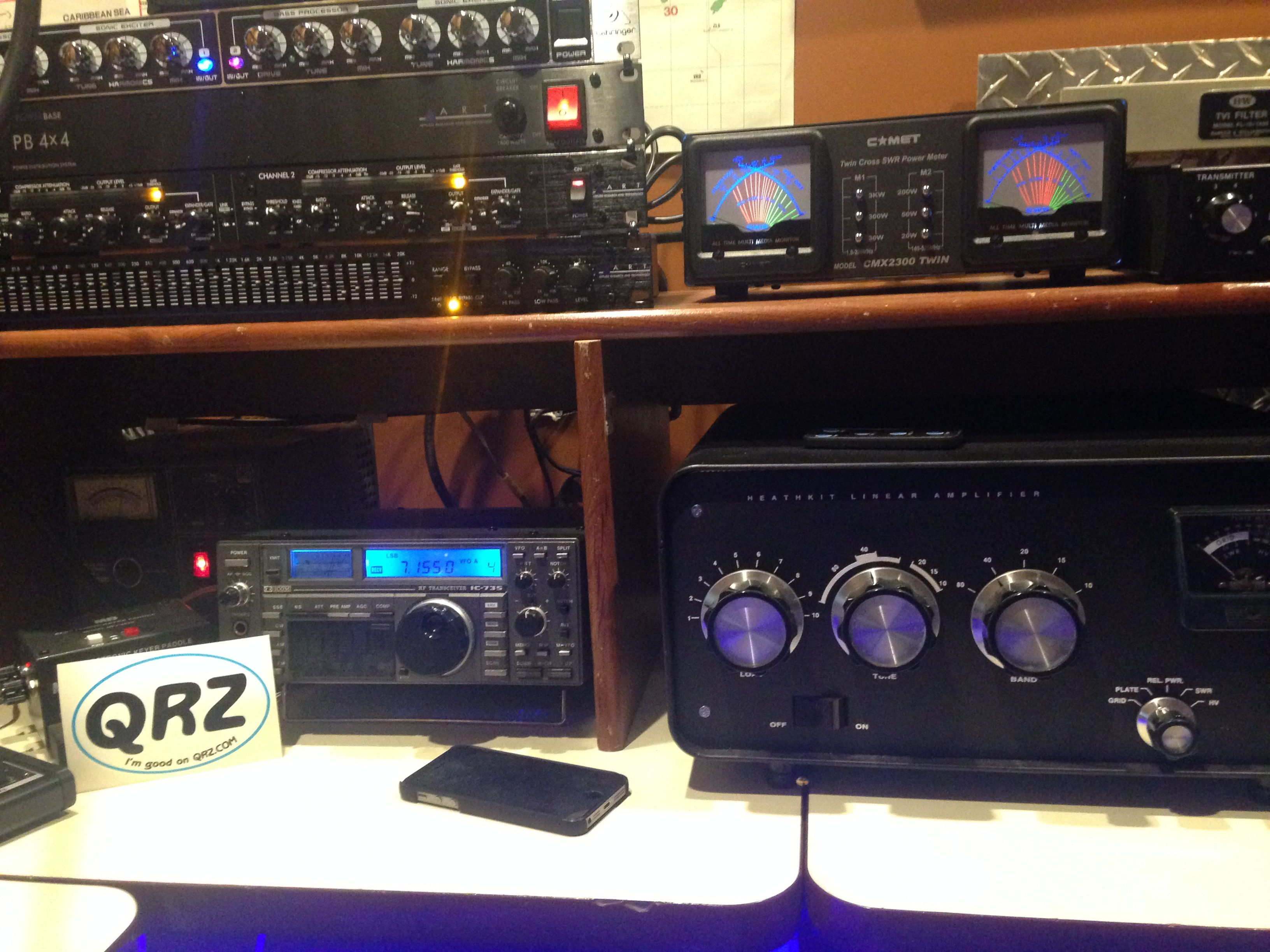 Amateur radio gear