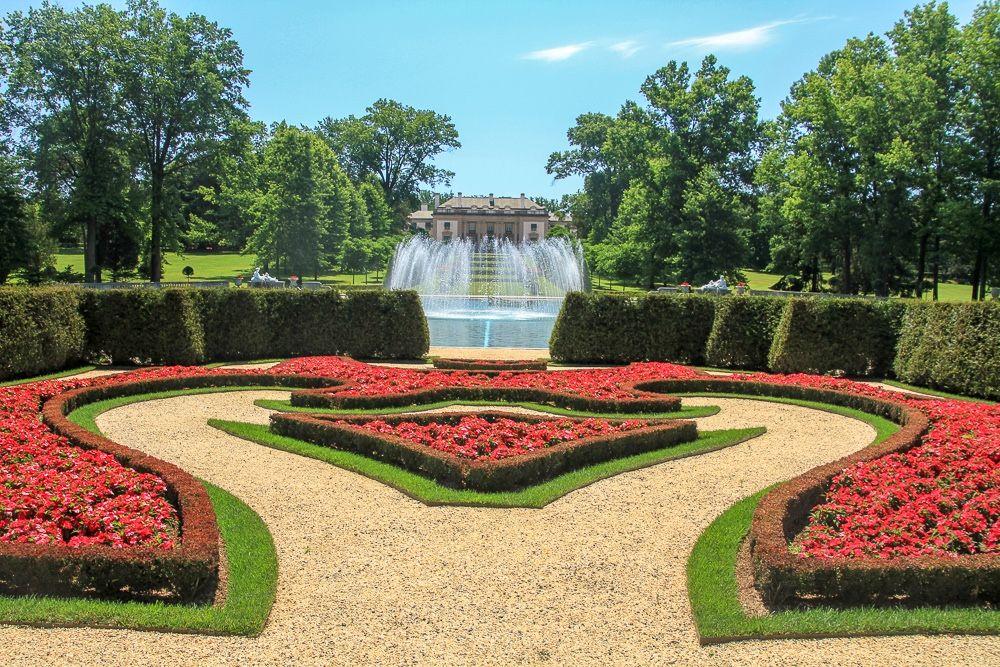 Nemours Mansion and Gardens Um pedacinho da França nos