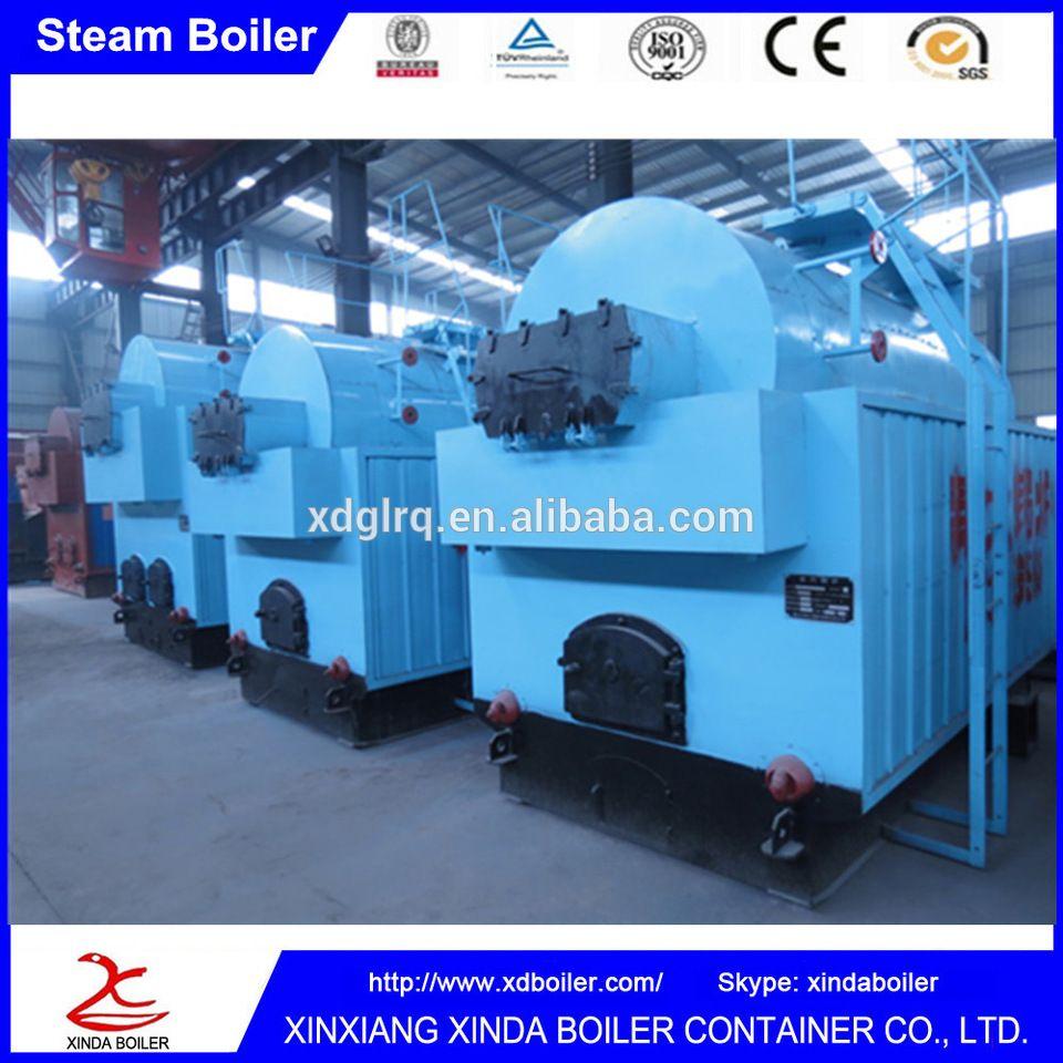 China xinxiang xinda 1 ton boiler 1000 kg / hour container type ...