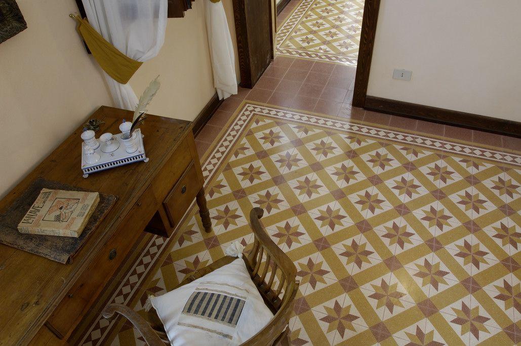 Cà Zen an eighteencentury villa's floor restoration with