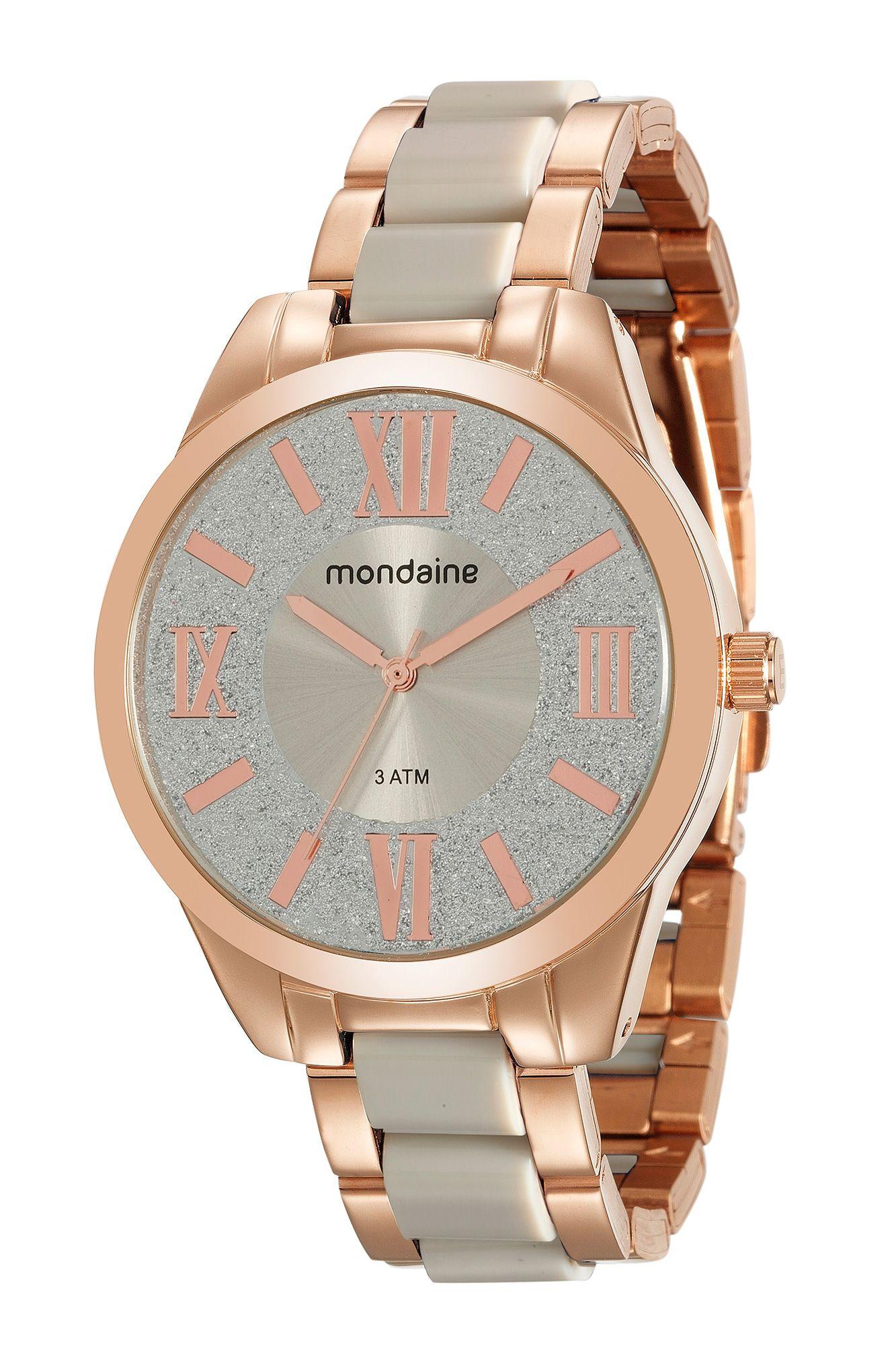 4de0befd084 Relógios Femininos Rosé Gold da Mondaine.