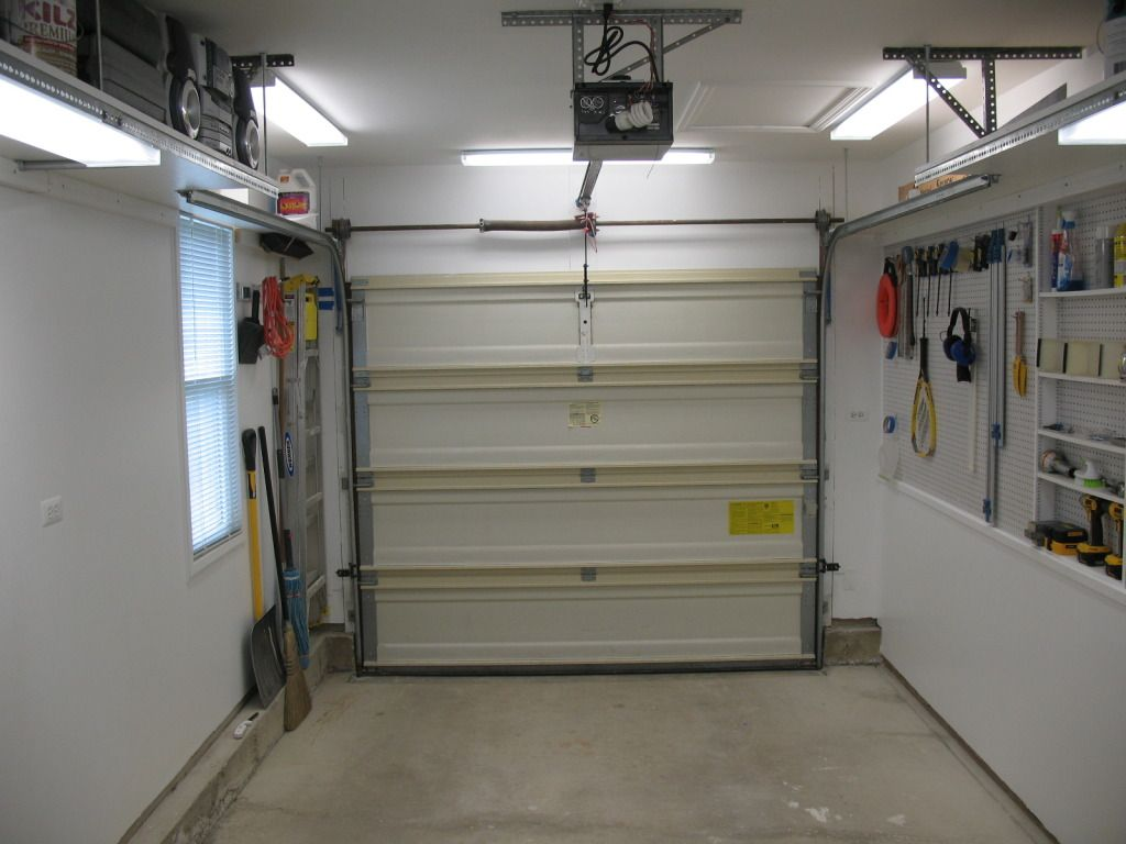 One Car Garage The Garage Journal Board Garage storage