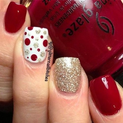 Diy christmas nail art 50 christmas nail designs you can do diy christmas nail art 50 christmas nail designs you can do yourself nail salons stylists and salons solutioingenieria Image collections