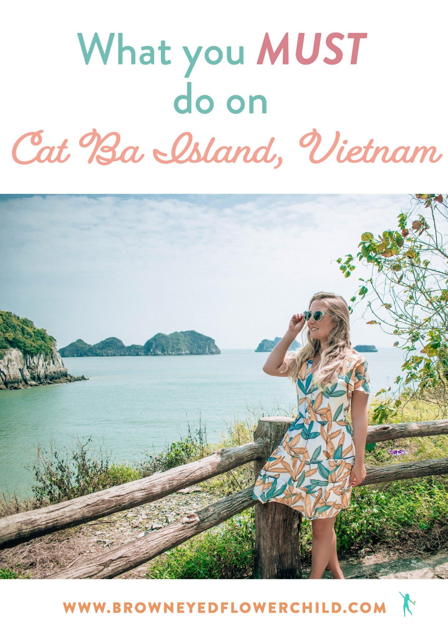 What you MUST do on Cat Ba Island in Vietnam. Discover how to relax and also have fun! #CatBaIsland #CatBaIslandVietnam #VietnamTrip #SoutheastAsiaTrip #VietnamIsland
