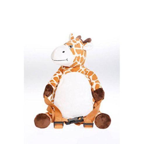 Bobo Buddies Giraffe Backpack With Reins Giraffe Tesco Direct