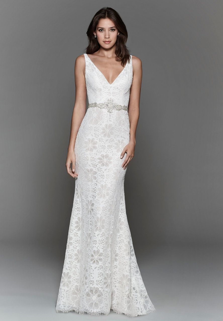 Wedding dress beaded back  Bridals by Lori  Tara Keely  Call Store for Details