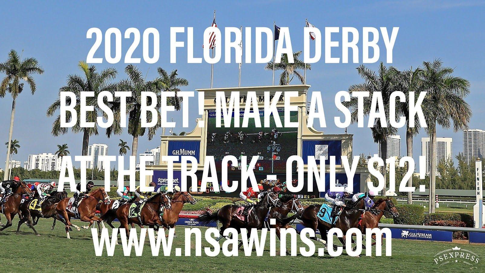 2020 Florida Derby Best Bet, Gulfstream & Oaklawn Park