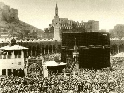 The oldest surviving photo from Hajj ever, year 1880! | Islam ...