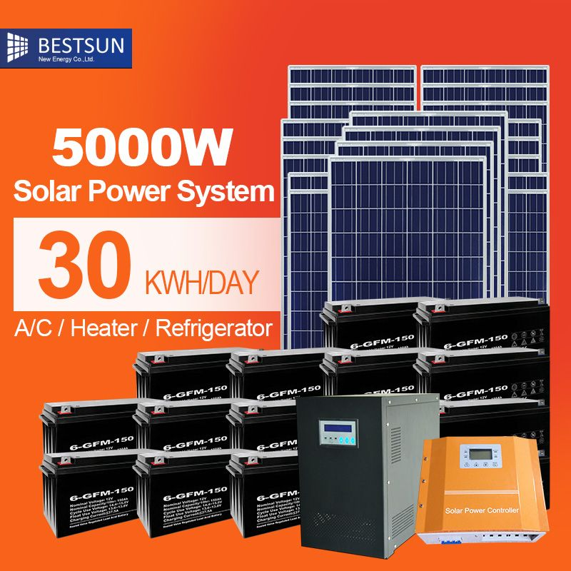 Cheap Cell Solar Buy Quality Cell System Directly From China Cell 5 Suppliers 5000w Solar Energy System Pv Panel Solar Energy System Solar Power Solar Energy
