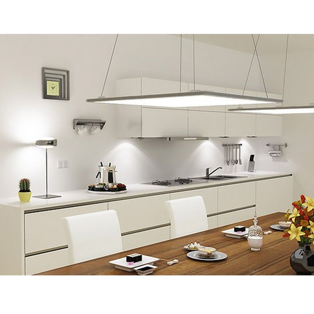 36w Led Panel Light 600 X 600mm 2700lm Ceiling Fixture Le White Modern Kitchen Modern Kitchen Lighting Modern Kitchen