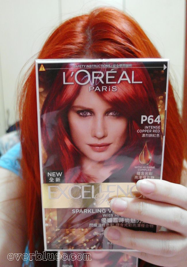Everbluec Loreal Paris New Excellence Fashion Hair Dye In Intense Copper Red