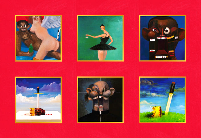 Conceived During West S Self Imposed Exile Following The 2009 Vma Incident And Further Influenced By His Beautiful Dark Twisted Fantasy Fantasy Artwork Artwork