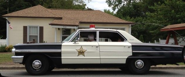 Mt Airy Dodge >> Mayberry police car in front of Andy Griffith boyhood home in Mt Airy, NC | Favorite Places I ...