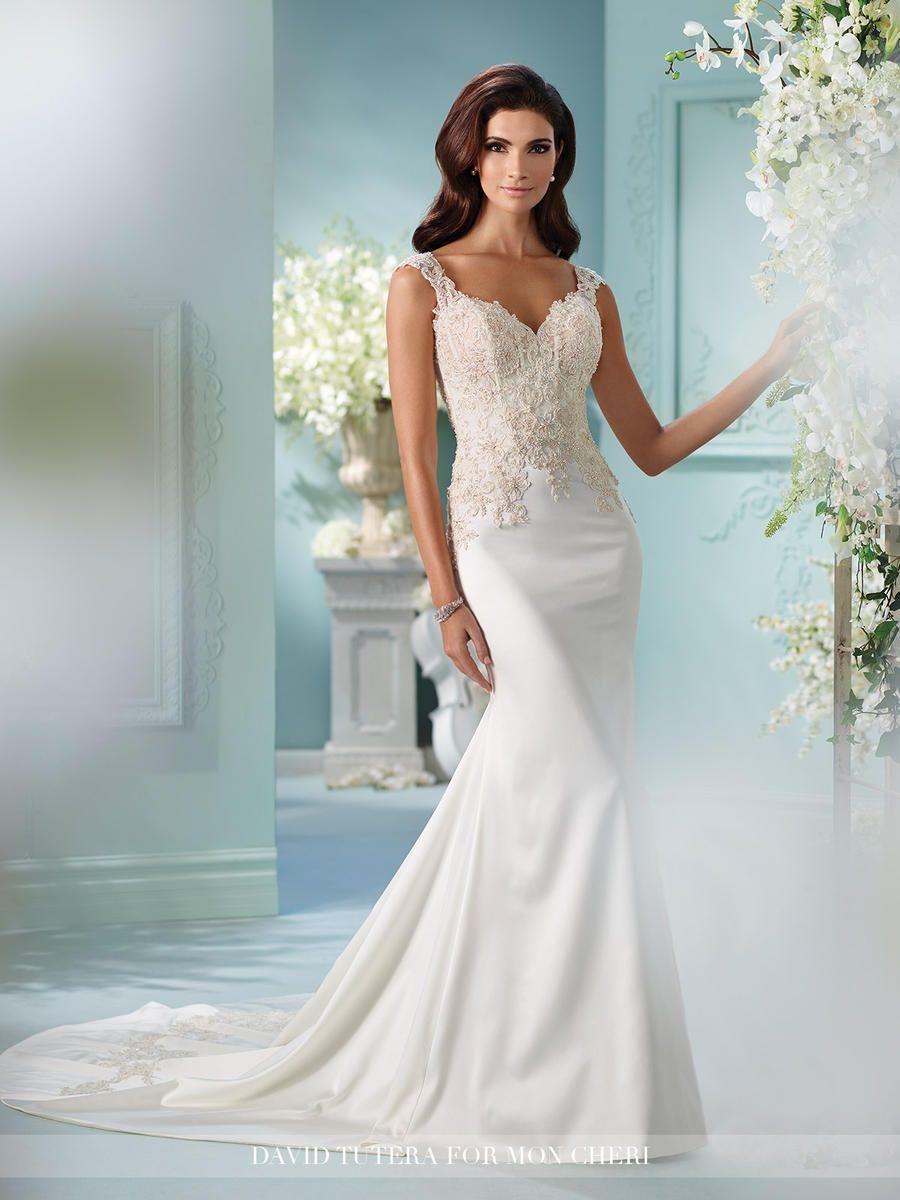 David Tutera Bridals 216244 David Tutera for Mon Cheri Bridal ...