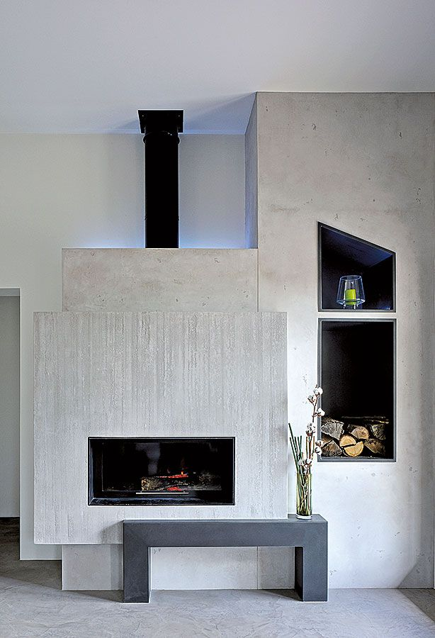 micro b ton stratifi en habillage mural encadrement chemin e photographe frenchie cristogatin. Black Bedroom Furniture Sets. Home Design Ideas