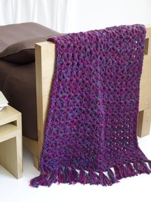 Image of 5 1/2 Hour Throw | crochet accessori | Pinterest | Colchas ...