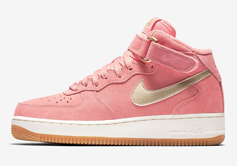 Damskie buty Nike WMNS Air Force 1 Mid Bright Melon