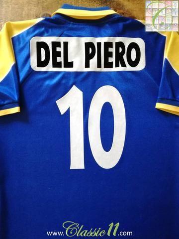 save off e1524 631a5 1995/96 Juventus Away European Football Shirt Del Piero #10 ...
