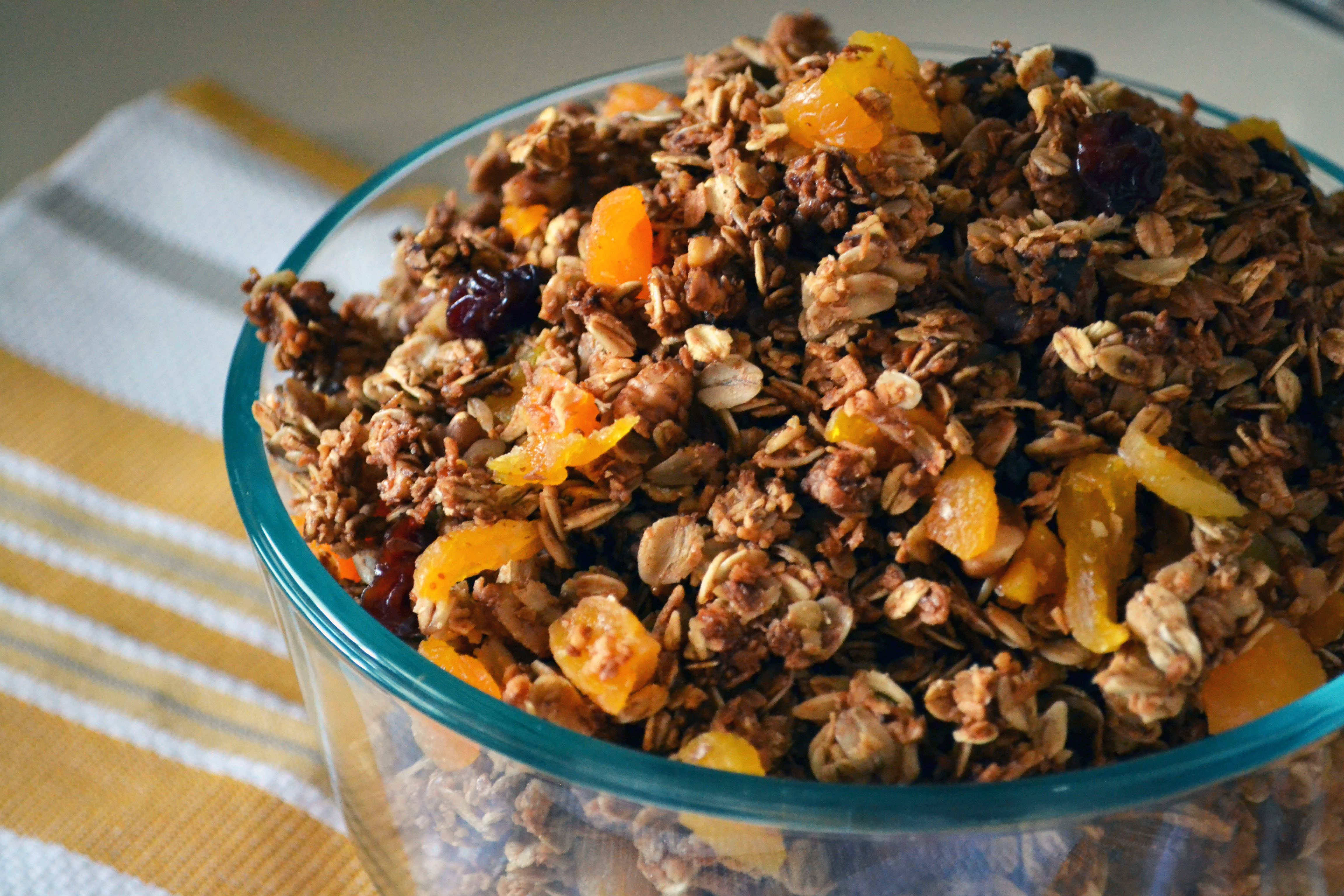smitten kitchen granola | Breakfast | Pinterest