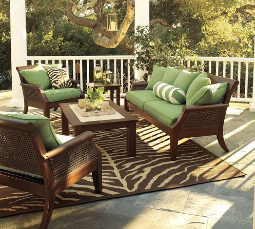the colors of nature | zebra print rug, porch and patios