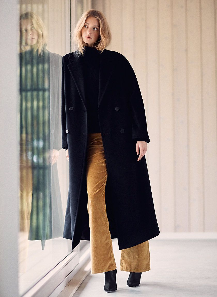 0b120ea53 Slouch wool coat in 2019 | Winter Minimal (Basic) Outfits | Wool ...