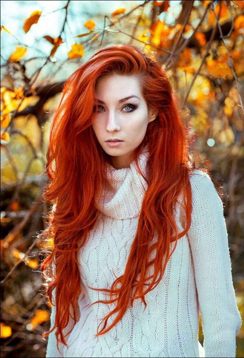 30 Beautiful Red Hair Color Ideas For Women Look More Pretty Red