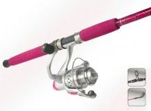 Okuma Femme Fatale Pink Fishing Rod and Reel Combo 7 Foot