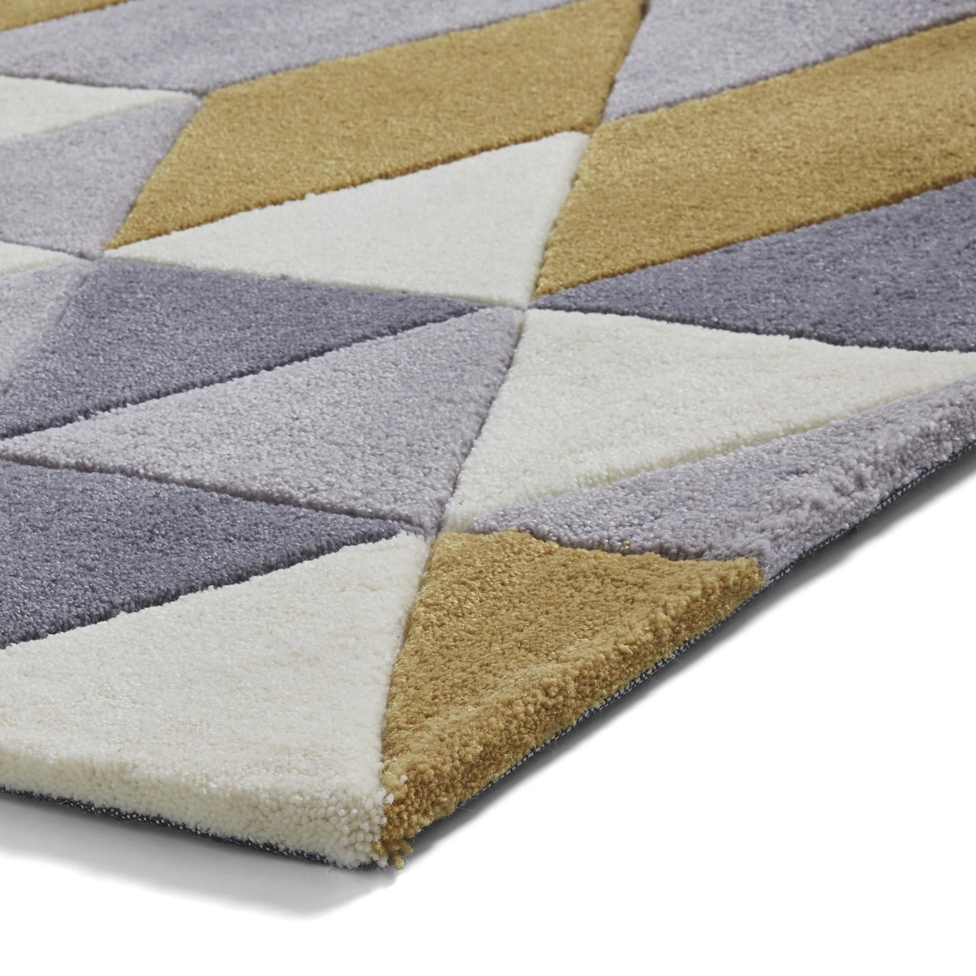 The trendy geometric 3653 design is hand tufted with 100% acrylic in four distinct and fashionable colour options. Please note, unfortunately we cannot deliver this item to the Channel Islands.