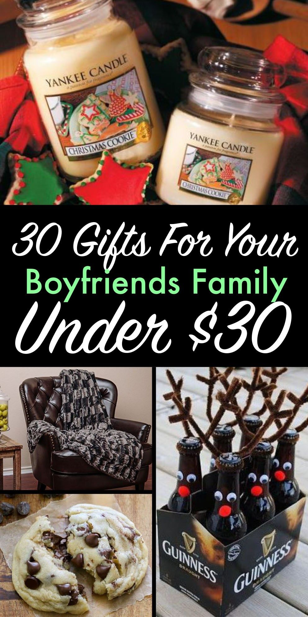 gifts for your boyfriends family under 30