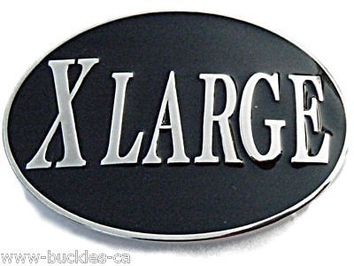 Xlarge Extra Large Xl Big Size Bar Joke Funny Humor Cool Big Belt Buckle Buckles #Coolbuckles #beltbuckle #xlarge #XL #humor