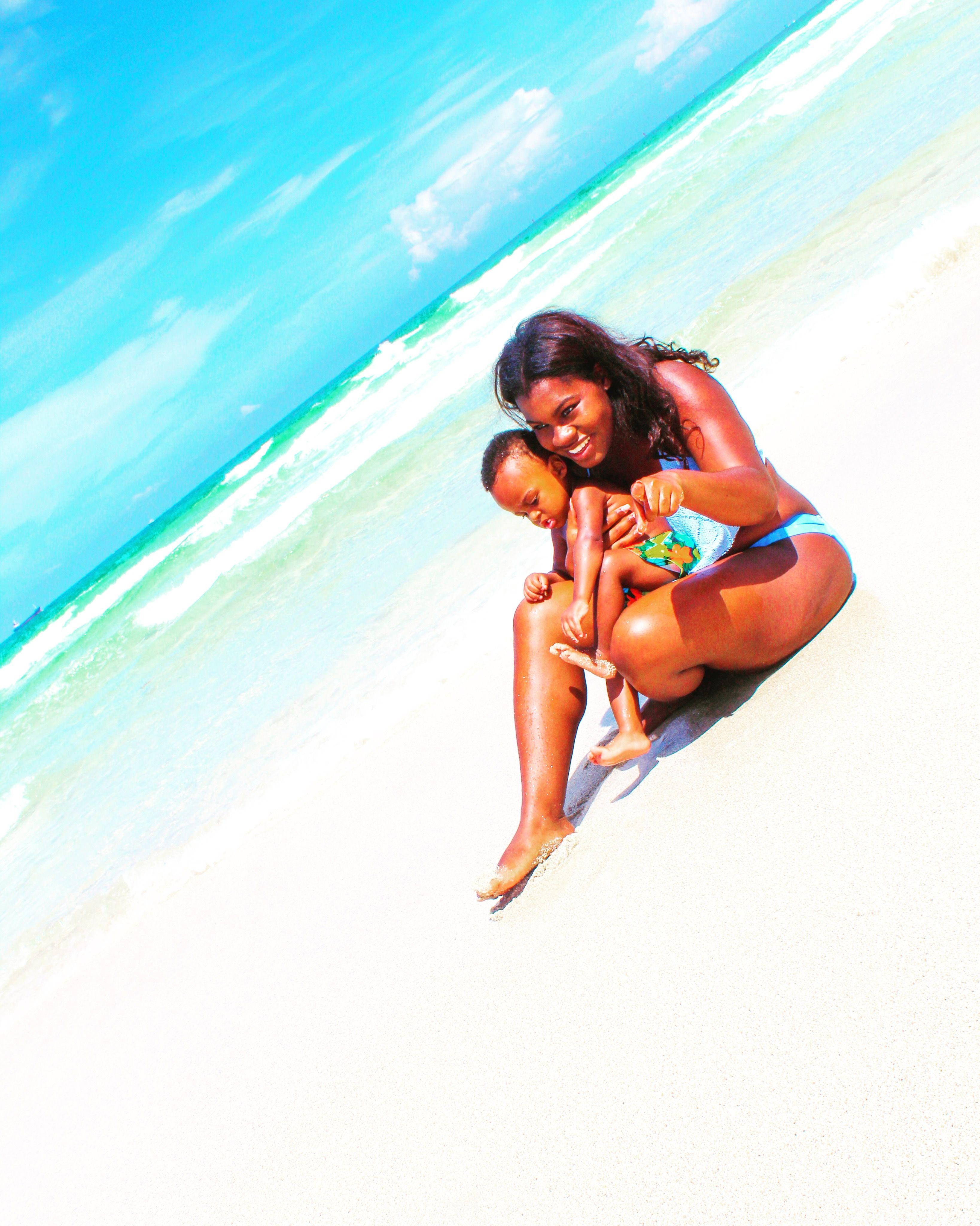 Mom And Baby Motherhood Photography South Beach Miami