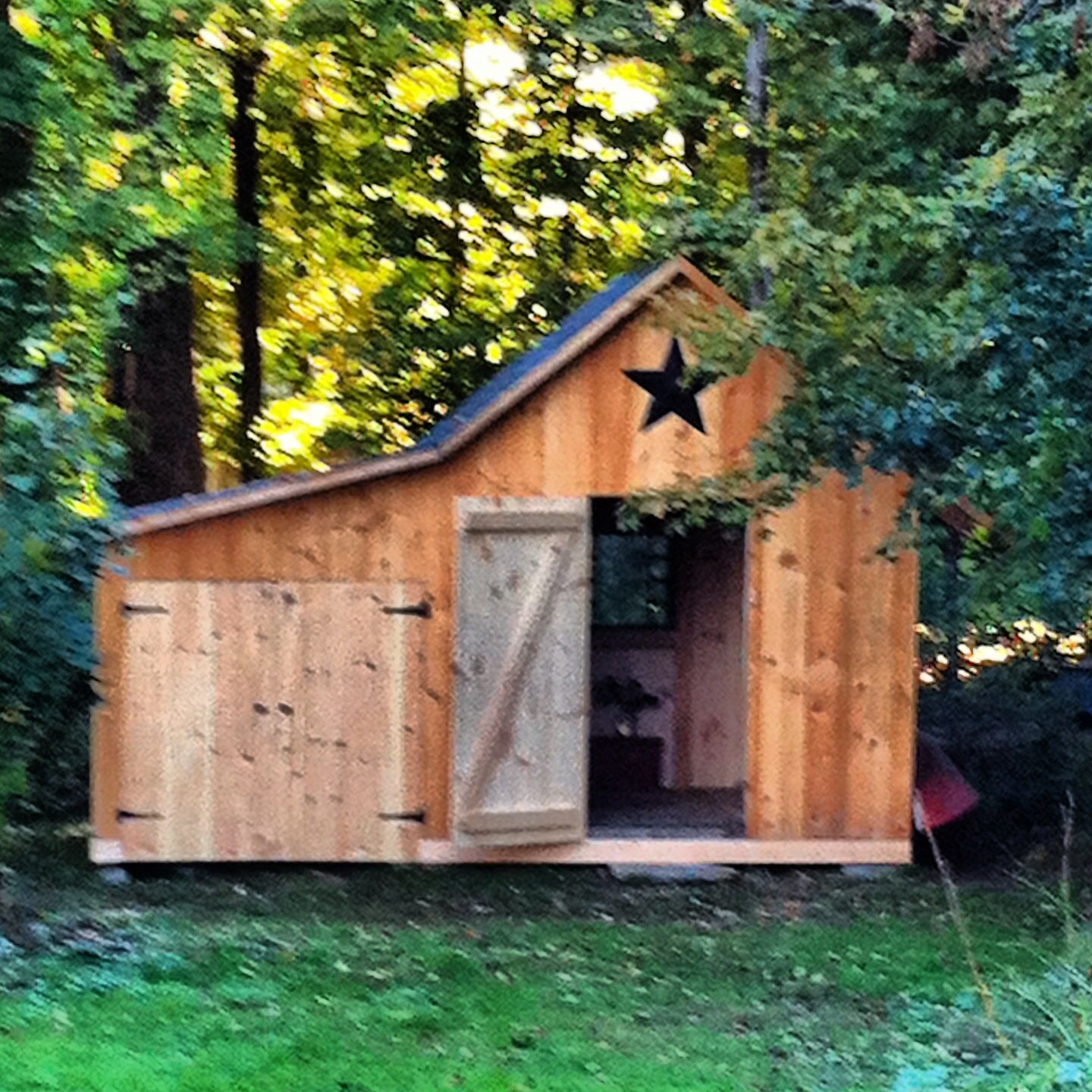 Timber Frame Barn Backyard Projects Barn That Functions As Office Retreat Quiet Nook Creative Spot Timber Frame Barn Rustic Barn Backyard Projects