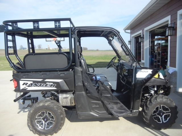 2015 Polaris Ranger 900xp With Roll Cage Accessory Rack