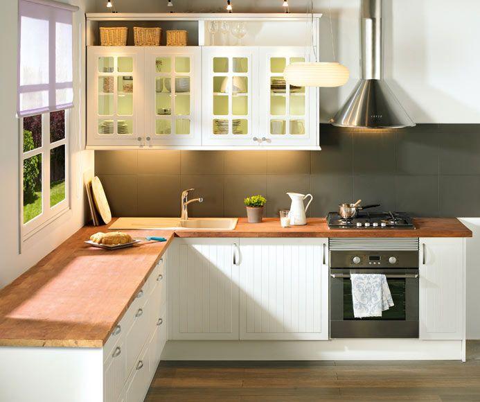 DELINIA TOSCANE - Leroy Merlin en 2020 | Muebles de cocina ...