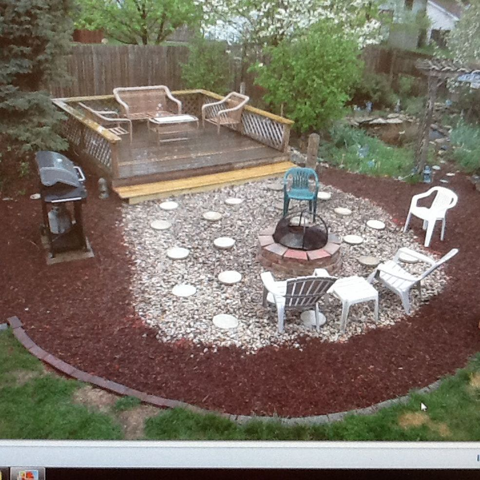 Removed Above Ground Pool And Now Have Big Circle Of Sand