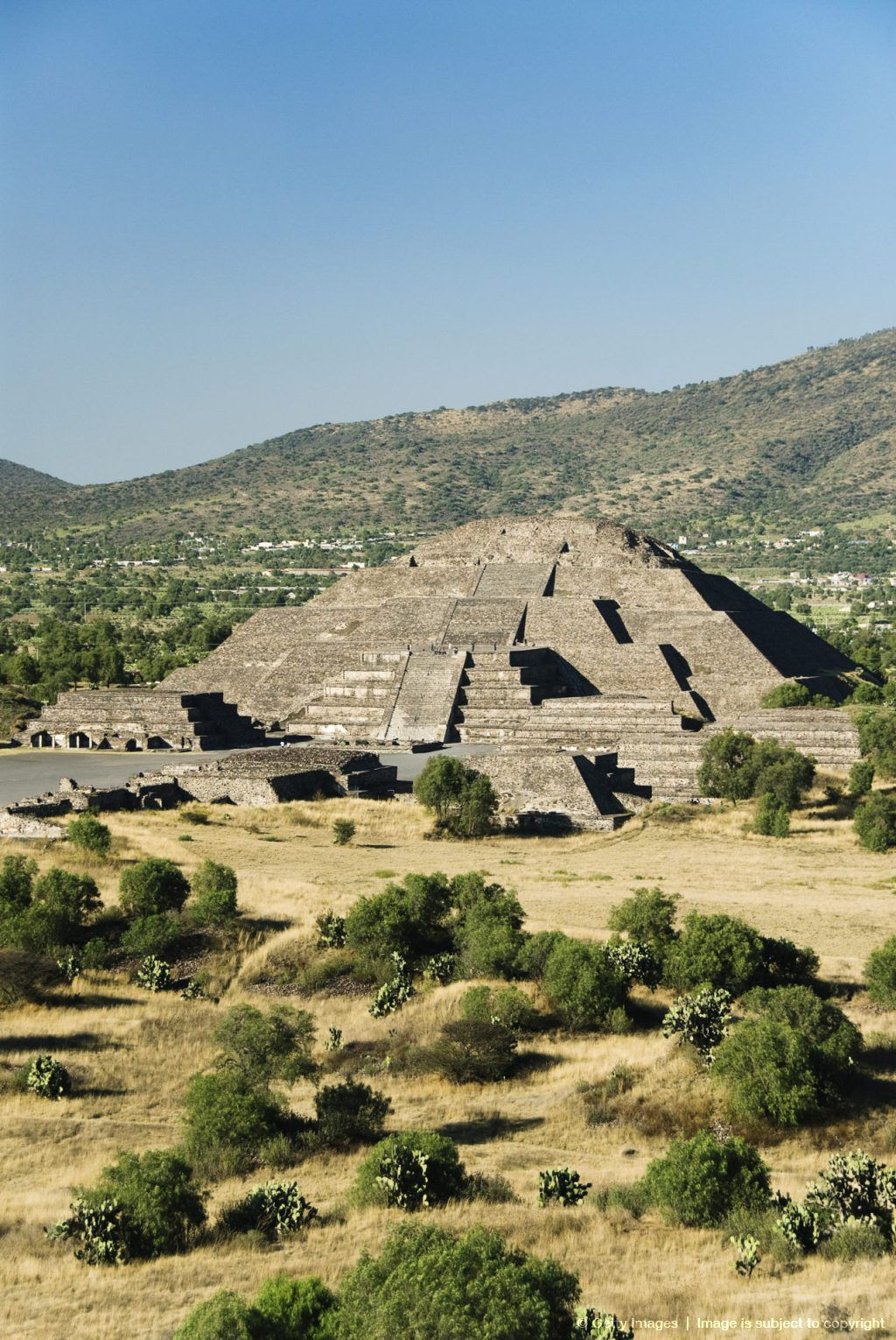 State of Mexico, Archaeological Zone of Teotihuacan, Pyramid of the Moon.