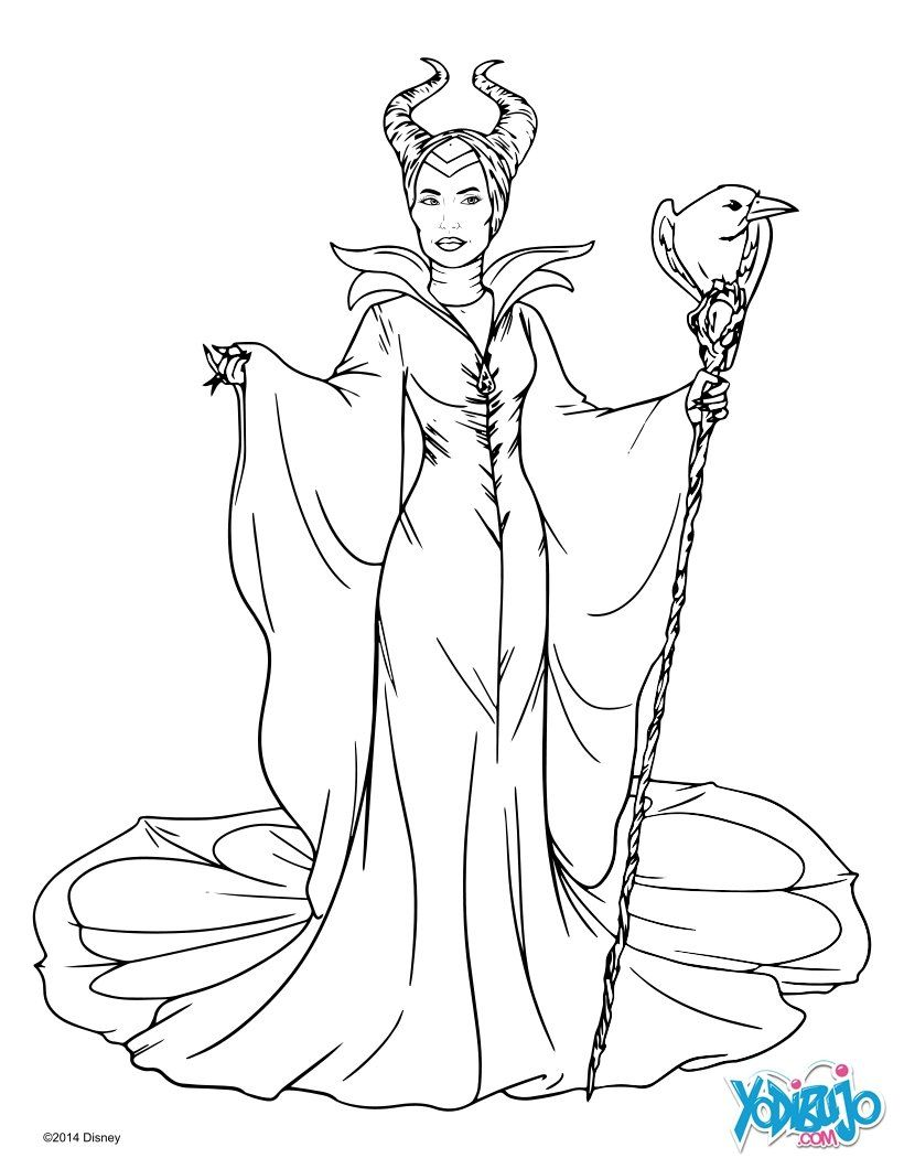 silueta malefica - Buscar con Google  Fairy coloring pages