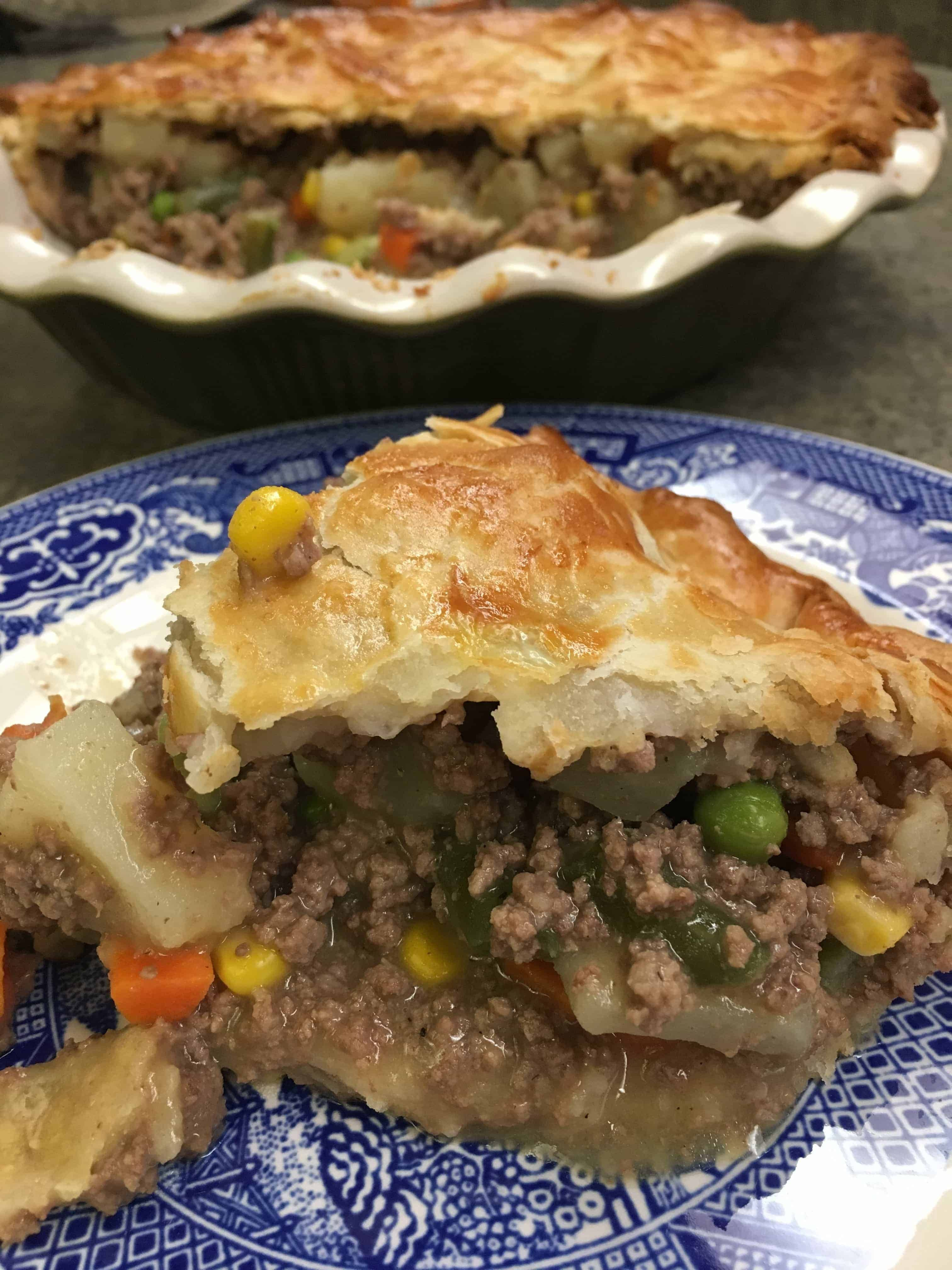 Easy Ground Beef Pot Pie images