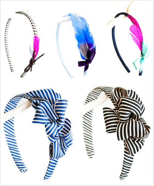Love the black & White striped one!