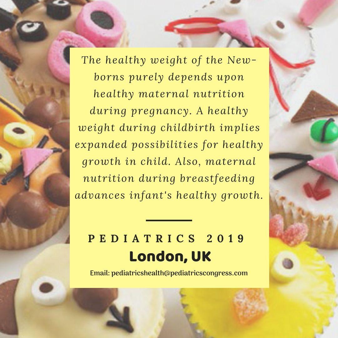 Session on Pediatric & Neonatal Nutrition. International