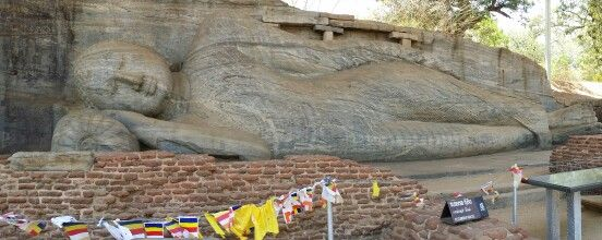 Buda de Gal Vihara. Sri Lanka.