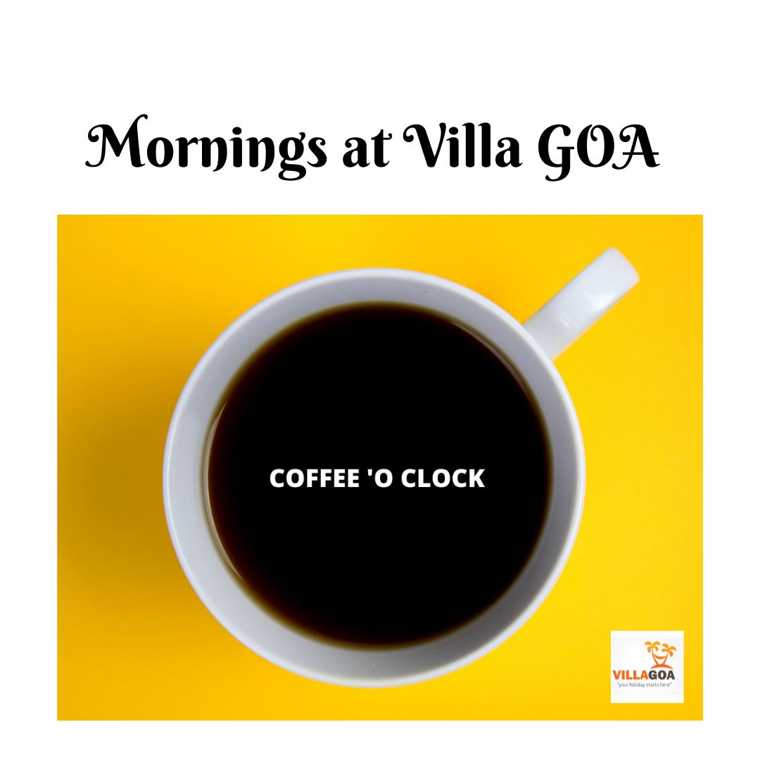 Mornings & Coffee both go hand in hand, so does Goa & Villa Goa. Book Luxury Villa at Villa Goa. Contact :- 7030080099  #VillaGoa #villasingoa #rentvilla #LuxuryVillasinGoa #luxuryhomes #micasasucasa #PrivatePoolVillas #Goa #Travel #TravelGoals #Traveller #traveltogoa #Travelwithfriends #travelwithfamily #exploregoa #pool #instatravel #luxurystay #weekendgetaway #weekendvibes #Vacay #staycation #holidays #beautifuldestinations #YOLO #airbnb #curlytales #lbbgoa #goodvibes