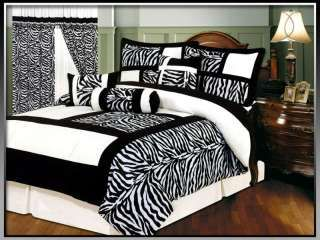 Zebra Bedding Pcs Zebra Micro Fur Bedding Comforter Set Bed In A