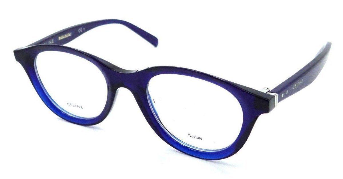 Celine Rx Eyeglasses Frames CL 41464 PJP 4621145 Blue