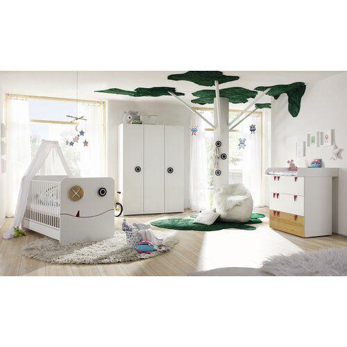 3 Tlg Babyzimmer Set Minimo Hulsta Now Farbe Braun Kids