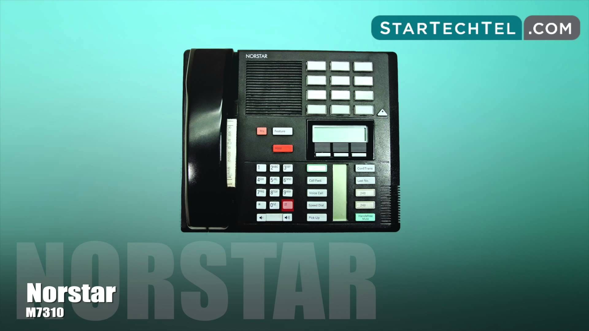 How To Turn On/Off The Auto Attendant On The Norstar M7310 Phone