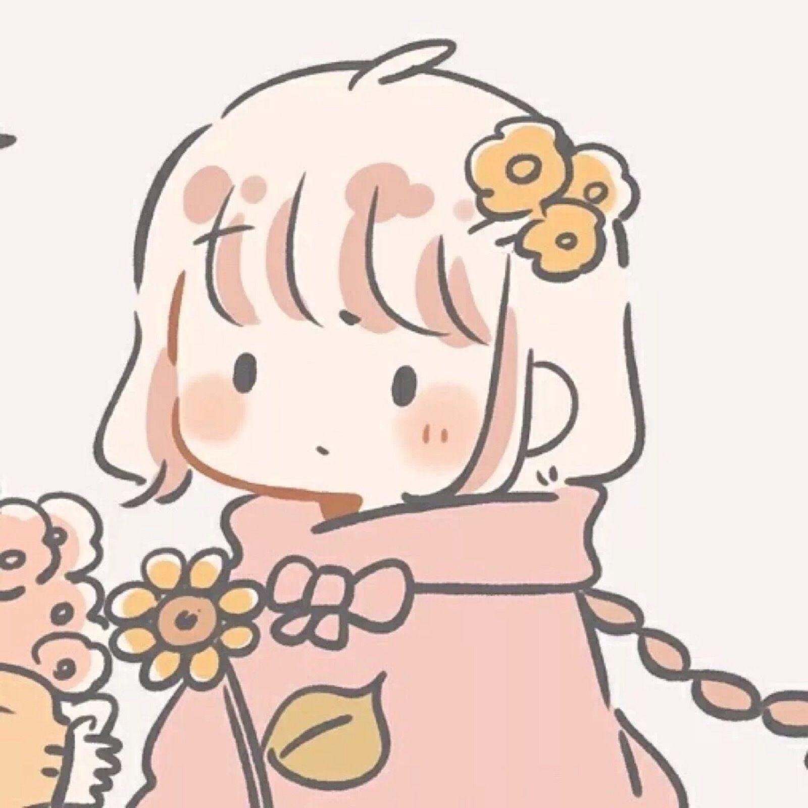 Pin By 拳拳之青 On 熊 兔 Cute Cartoon Wallpapers Friend Anime Cute Little Drawings