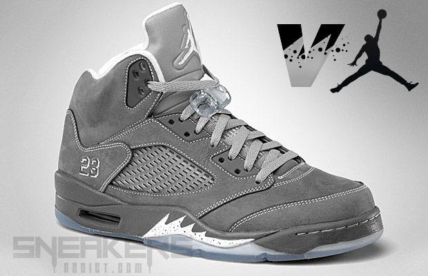 Jordan 5 Wolf Grey