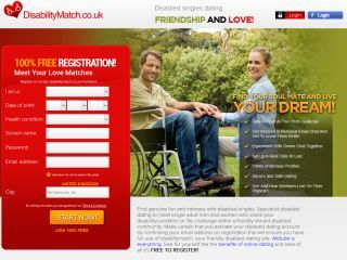 100 free dating for disabled people radioactive dating enables geologists to determine