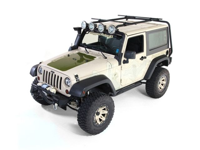 Rhino-Rack USA SG60 SG Roof Rack System Fits 87-18 TJ Wrangler Wrangler JK